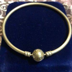 Pandora Sterling Silver S925 ALE Bangle Bracelet